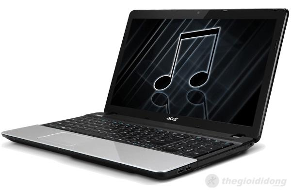 Acer Aspire E1 571 33124G50Mn sở hữu màn hình rộng, độ phân giải cao