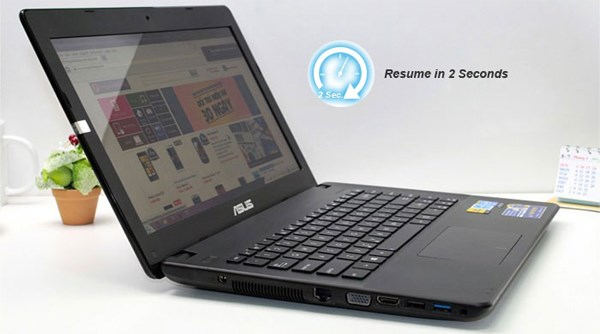 Asus X451CA Instant On