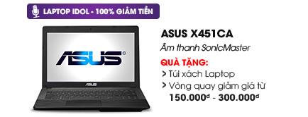 Laptop Asus X451CA i3 3217U/2G/500G