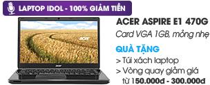 Acer Aspire E1 470G i3 3217U/2G/500G/VGA 1G