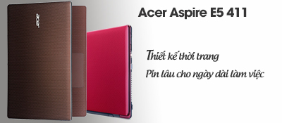 Laptop Acer Aspire E5 411 N2940/2GB/500GB