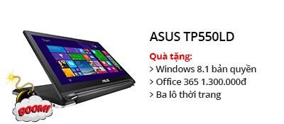 Laptop Asus TP550LD i3 4030U/4GB/500GB/VGA 2GB/Win8.1