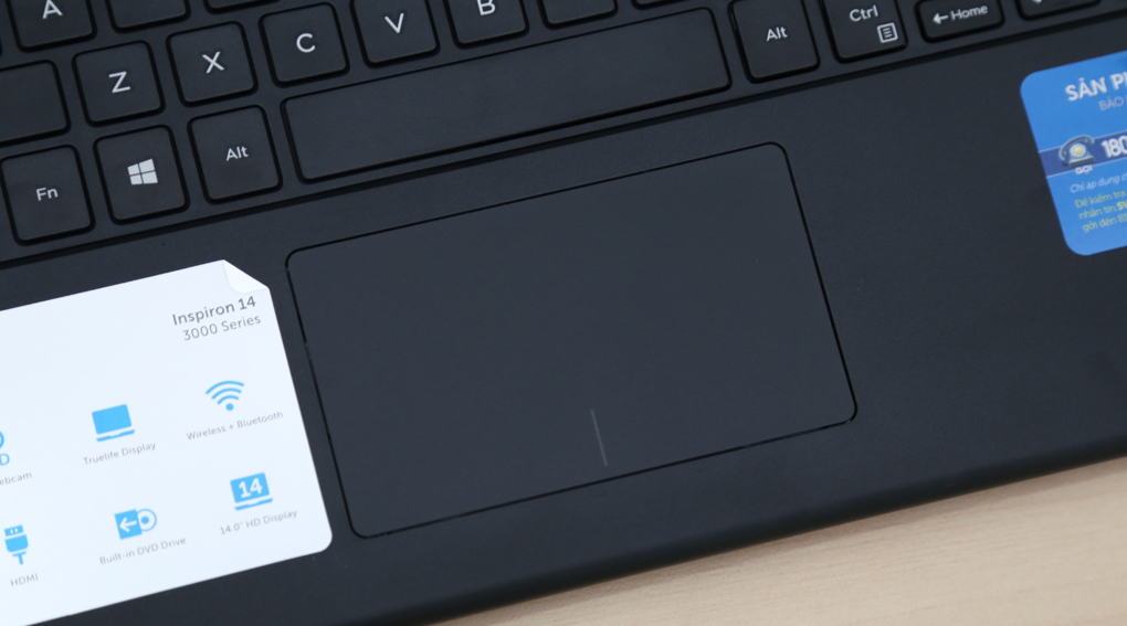 Thiết kế của Dell Inspiron 3442 i3 4005U/4G/500G/Win8.1-11-0