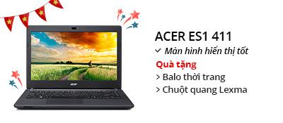 Laptop Acer Aspire ES1 411 N3540/4G/500G/Win8.1