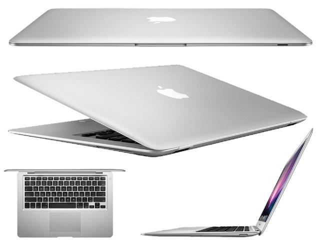thiết kế đặc trưng của macbook air