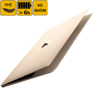 Laptop Apple Macbook 12 inches MLHE2 Core M 1.1G/8GB/256GB/MacOSX