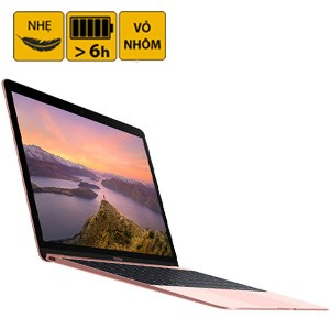 Laptop Apple Macbook 12 inches MMGM2 Core M 1.2G/8GB/512GB/MacOS (2016)