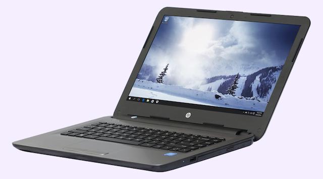 HP 14 am065TU N3060 - 2 cạnh bên