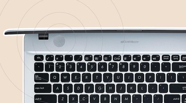 Asus X441UA i5 6200U - Dàn loa cho âm thanh rõ nét đến từng chi tiết