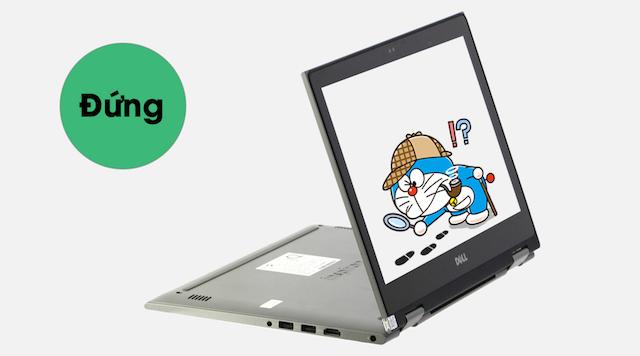 Dell Inspiron 5378 i5 7200U - Biến hình máy tùy theo nhu cầu sử dụng của bạn