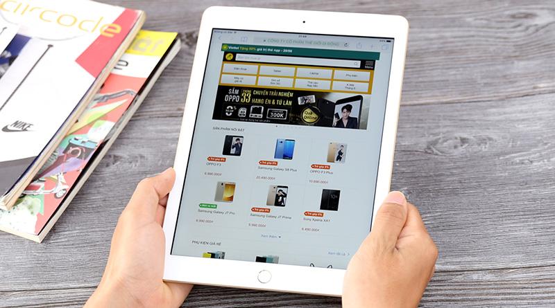 Pin là lợi thế lớn của iPad 6th