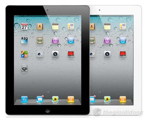 iPad 2 3G 16Gb với lựa chọn 2 màu trắng và đen