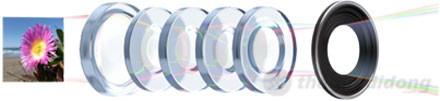 Camera của ipad mini được trang bị thấu kính năm tầng cho hình ảnh sâu và sắc nét