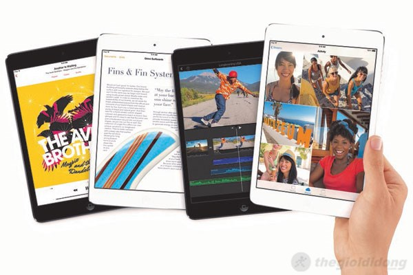 Tốc độ kết nối nhanh chóng với iPad Air