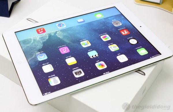 Thiết kế cao cấp, sang trọng của iPad Air