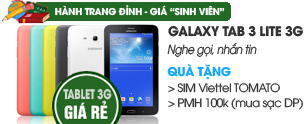 Samsung Galaxy Tab 3 Lite 3G/8GB (T111)