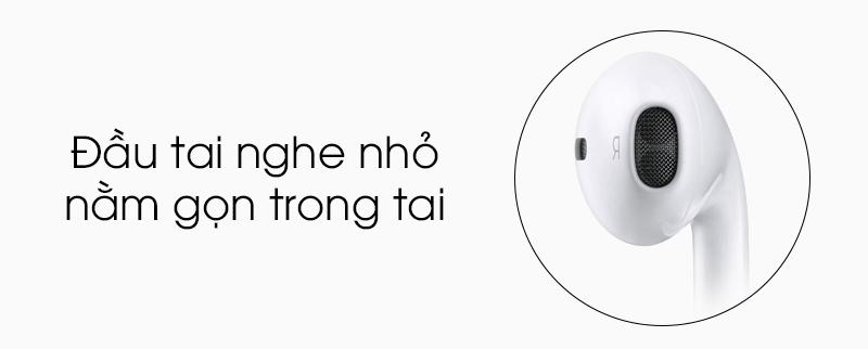 Tai nghe nhét trong Apple MD827FE-A - Thiết kế đẹp mắt