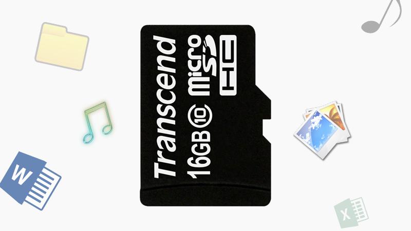 Thẻ nhớ 16GB MicroSD class 10 - Dung lượng 16 GB giúp tăng bộ nhớ máy