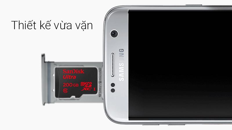 Thẻ nhớ microSD 200Gb - Thẻ nhớ microSD 200Gb thiết kế vừa vặn