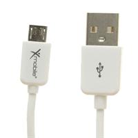 Cáp Micro USB Xmobile MU03 Trắng