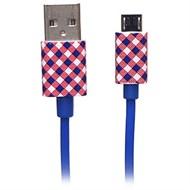 Cáp Micro USB eSaver DS120-TB Caro Xanh