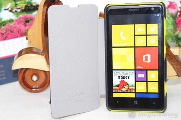 Ốp lưng nắp gập Usams hoàn toàn tương thích với Nokia Lumia 625