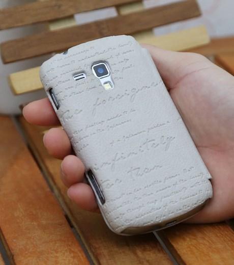 Ốp lưng - Flipcover điện thoại Ốp lưng nắp gập Galaxy Trend/ Trend Plus Zenus