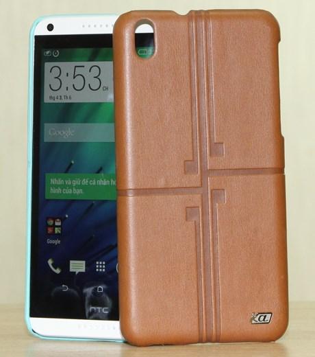Ốp lưng - Flipcover điện thoại Ốp lưng da HTC Desire 816 Coreka