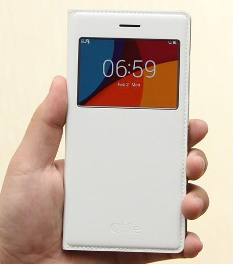 Ốp lưng - Flipcover điện thoại Ốp lưng Oppo R5 nắp gập ilike