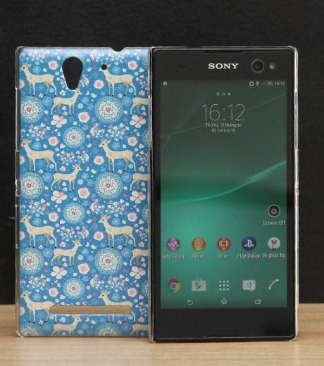 Ốp lưng - Flipcover điện thoại Ốp lưng Sony Xperia C3