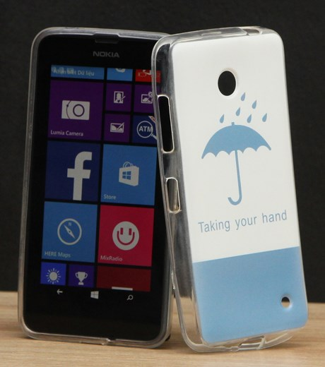 Ốp lưng - Flipcover điện thoại Ốp lưng Nokia Lumia 630