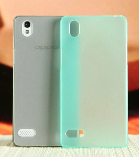 Ốp lưng - Flipcover điện thoại Ốp lưng Oppo Mirror 5 nhựa ilike