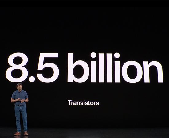 Chip A13 có đến 8.5 tỷ bóng bán dẫn