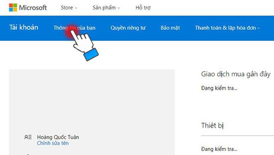 Thiết lập gia đình tôi trên Windows Phone khi tải ứng dụng?