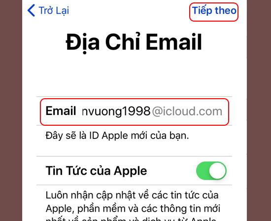 Hướng dẫn đăng ký tài khoản iCloud