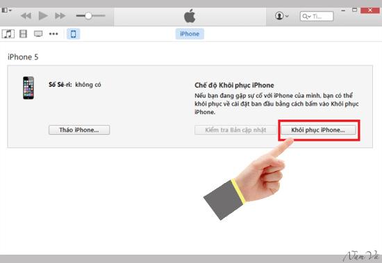 Chế độ khôi phục iPhone